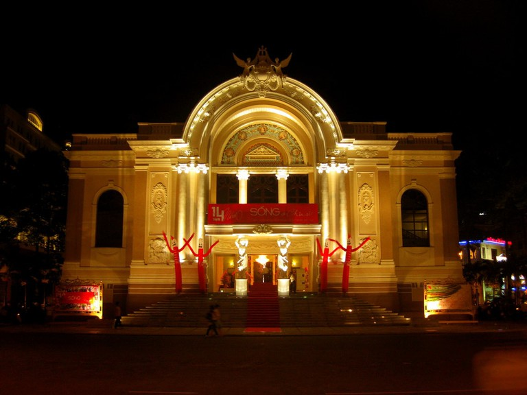 Saigon Opera House | © Chang'r/Flickr