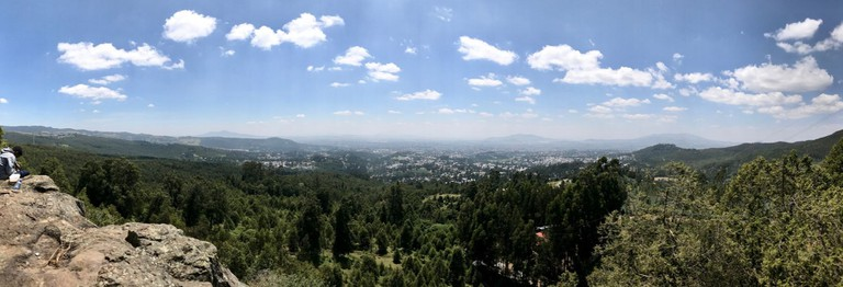 The view of Addis Ababa from Mount Entoto