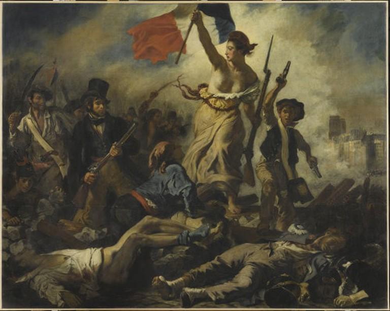 Le 28 juillet 1830 : la Liberté guidant le peuple