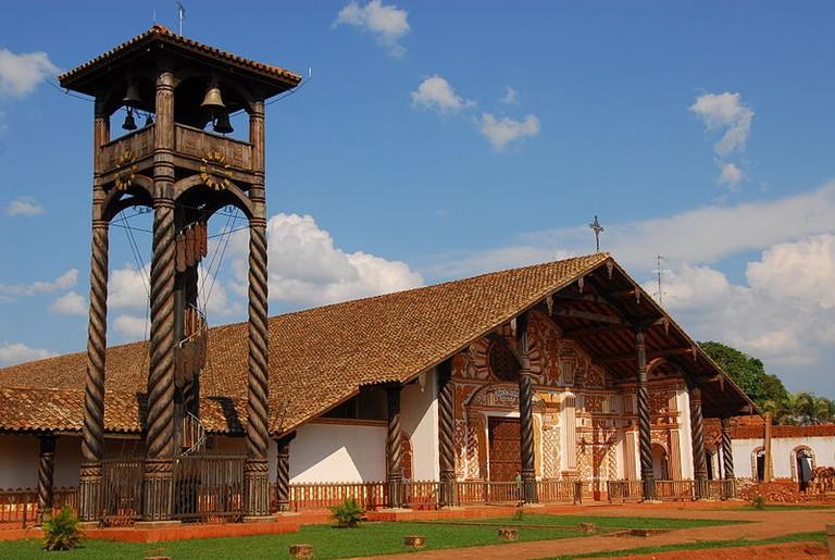 Concepcion church chiquitos Jesuit Bolivia