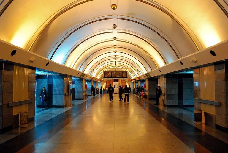 The underground station at Vukov Spomenik