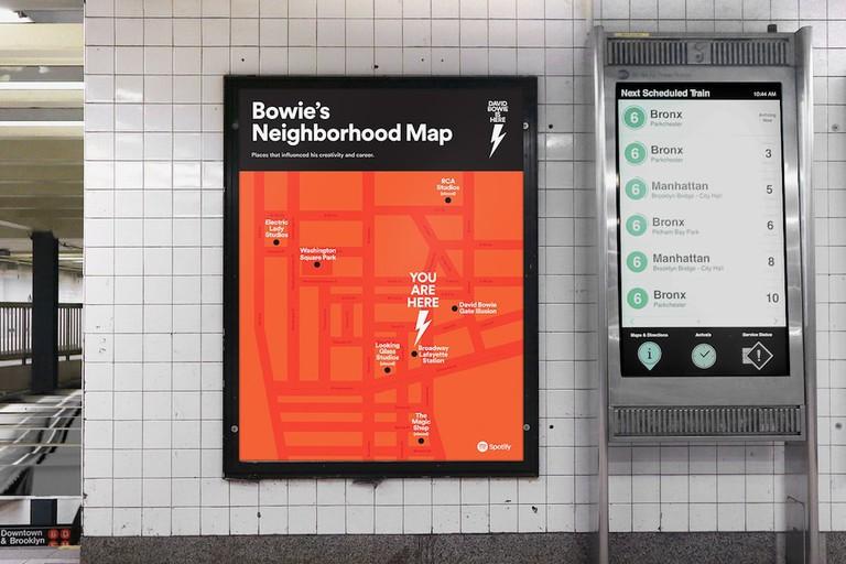Neighborhood map. Image courtesy of Spotify.