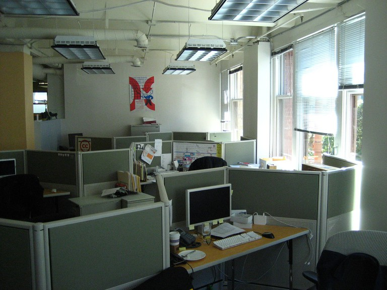 A teaching office