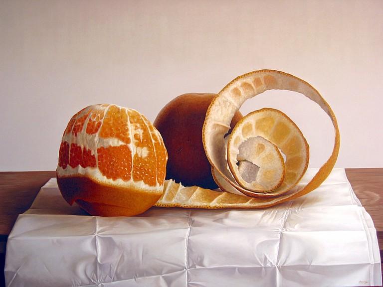 Bodegon de Naranjas 02