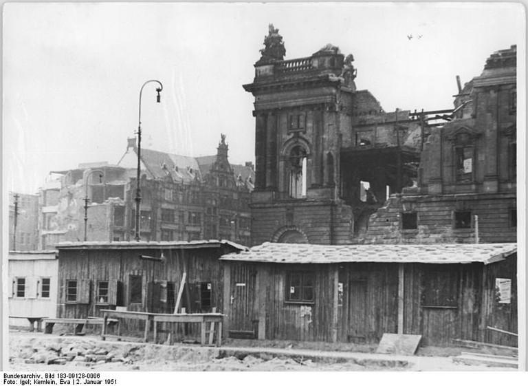Berlin, Stadtschloss, Abriss