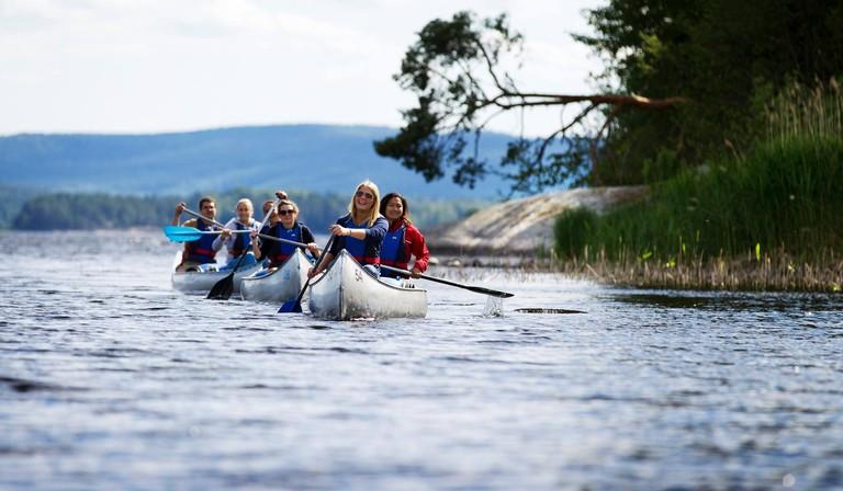 Canoeing in Arvika
