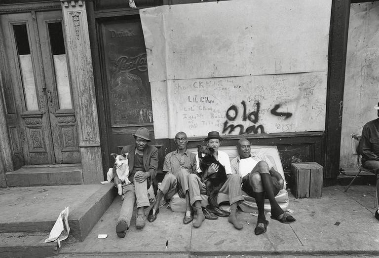 Bruce Davidson, 'East 100th Street, Harlem, New York,' 1966   Courtesy of Magnum Photos and Taschen.
