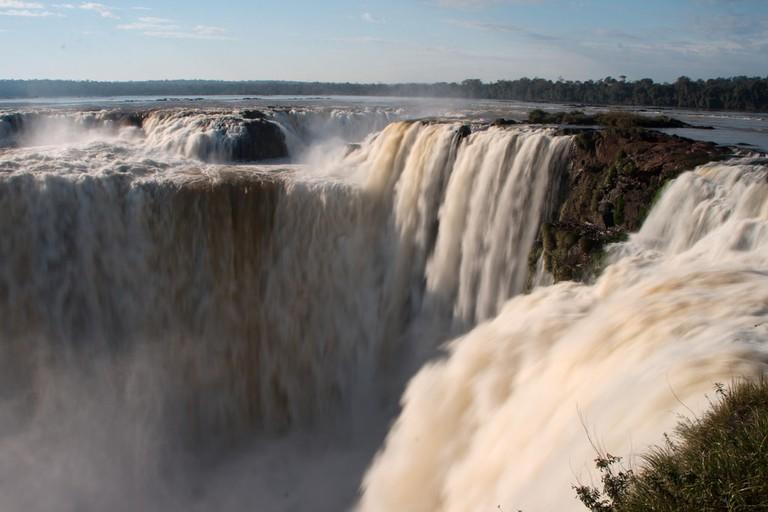 The amazing falls at Iguazu, Misiones