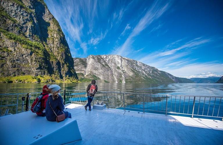 Cruising the fjords, © Sverre Hjørnevik, Courtesy of Visit Sognefjord