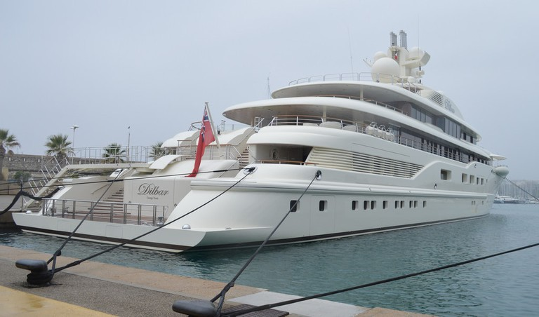 The Dilbar photographed in Antibes  © Paul Townley / Flickr