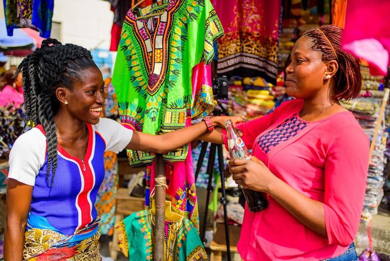 Eko Market, Lagos, Nigeria 2016. Credit- Jide Odukoya