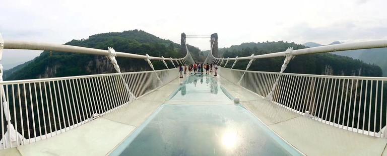 Zhangjiajie Glass Bridge Chinese Glass Bridge