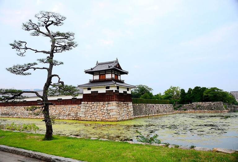 Hiroshima_castle_view
