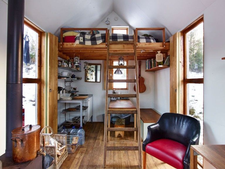 Inshriach Bothy Interior photo by Johnny Barrington