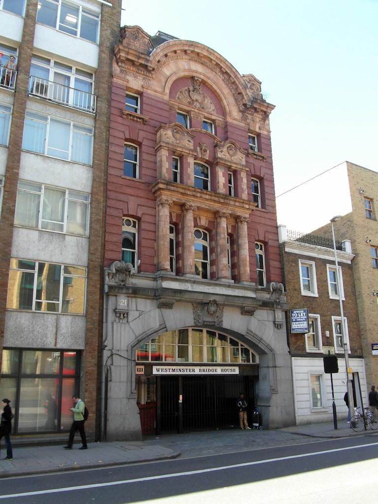 London Necropolis Railway former office building