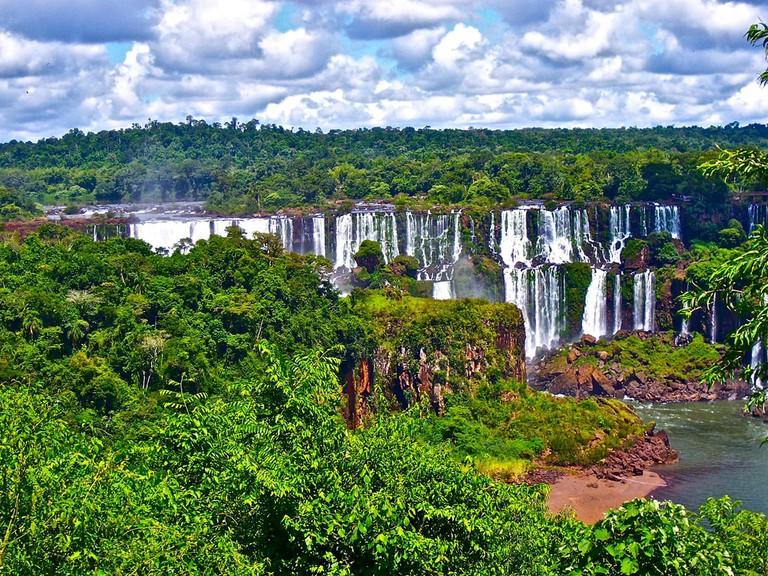 The stunning Iguazu Falls in Argentina