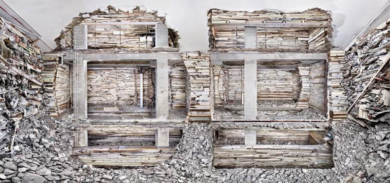 Marjan Teeuwen_Verwoest Huis Piet Mondriaanstraat 1