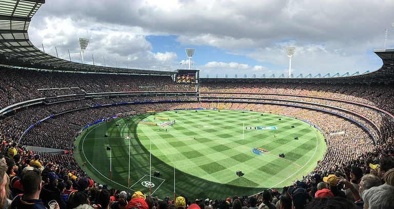Melbourne Cricket Ground © Flickerd : Wikimedia Commons