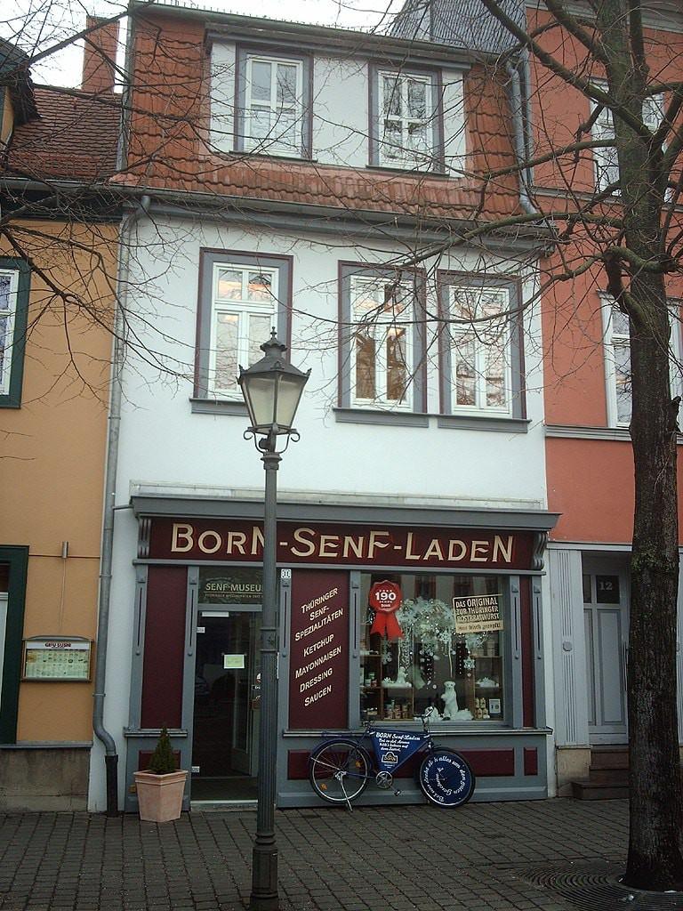 Mustard_museum_Erfurt_Wenigemarkt_Born