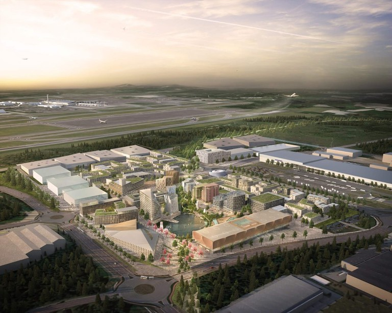 Oslo Airport City will be green and sustainable