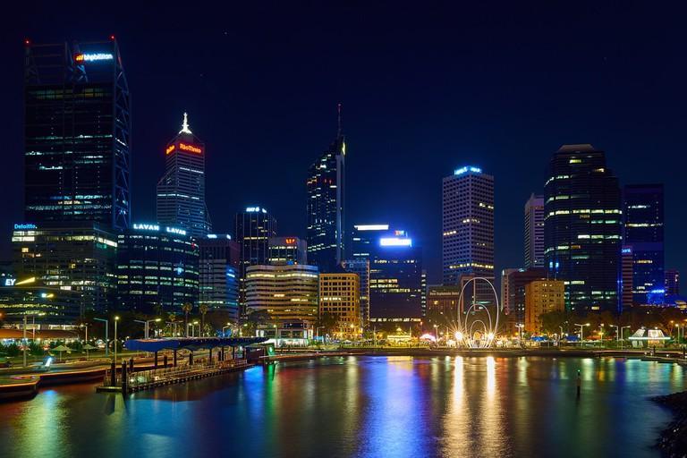 Perth at night © Pedro Szekely / Flickr