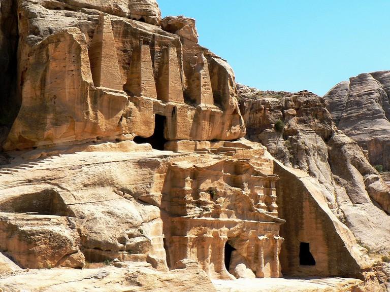 Petra-Jordan-Obelisk-Tomb-Day