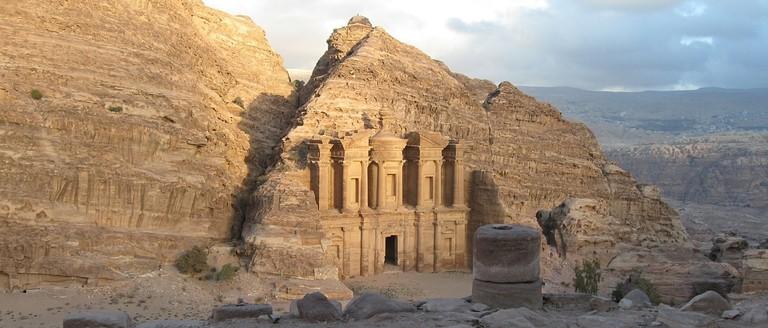 Petra-Monastery-Dusk-wide