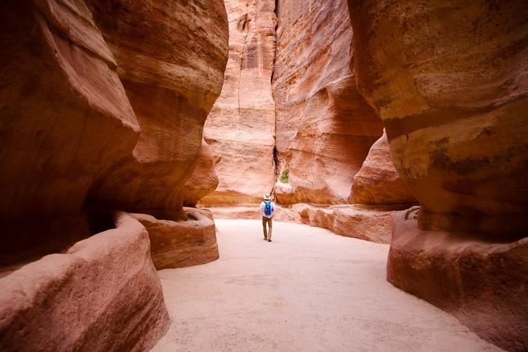 Petra-Siq-Man-Day - 1