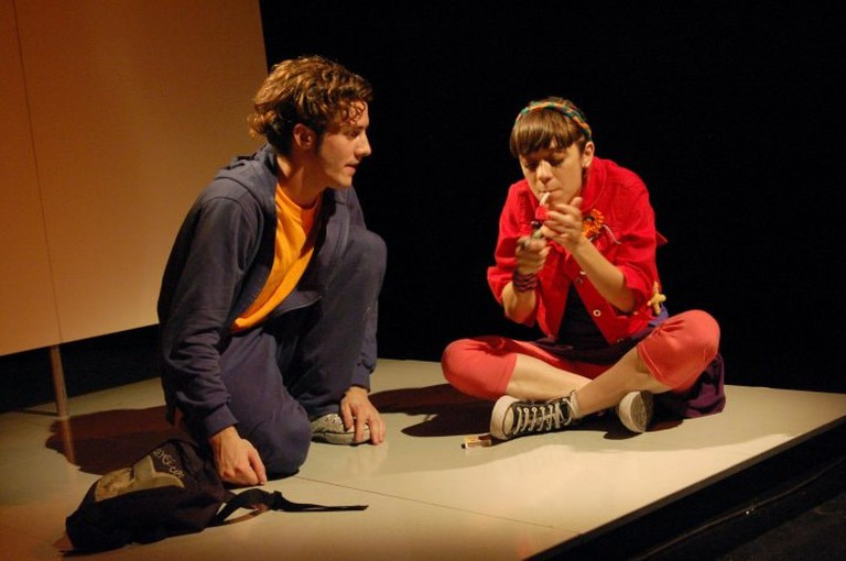 An independent theatre performance in Buenos Aires
