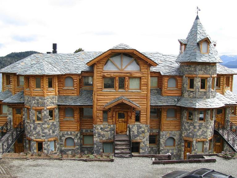 A typical Alpine construction in Bariloche