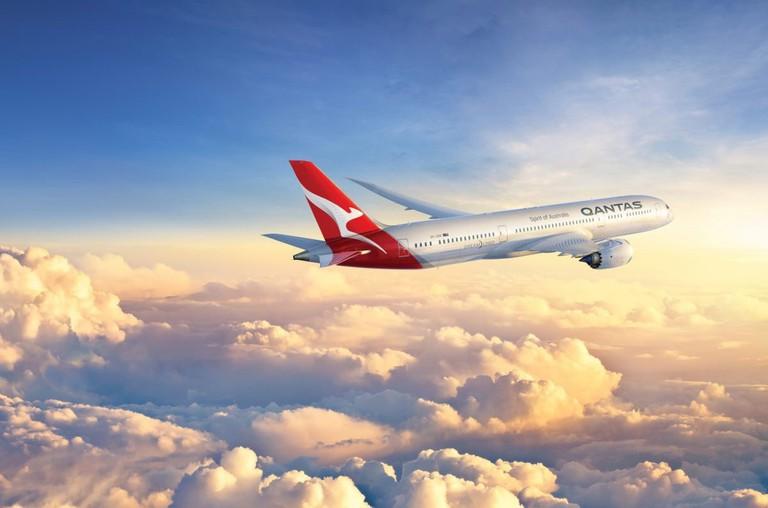 Qantas Dreamliner © Qantas