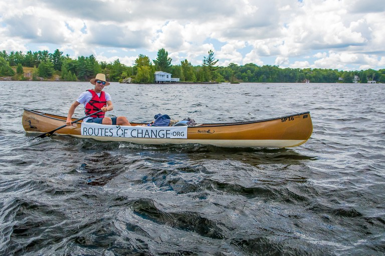 Canoeing by Randy Mitson- Algonquin Outfitters