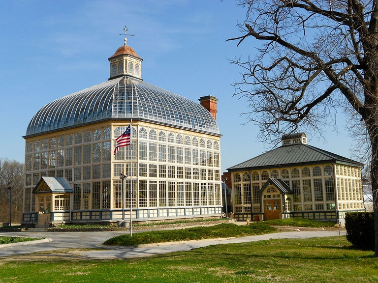 Rawlings Conservatory, Druid Hill Park, Baltimore, Maryland, Cycling guide