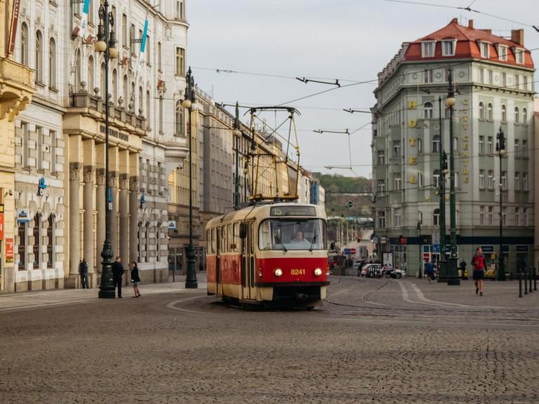 Head towards Prague's Old Town