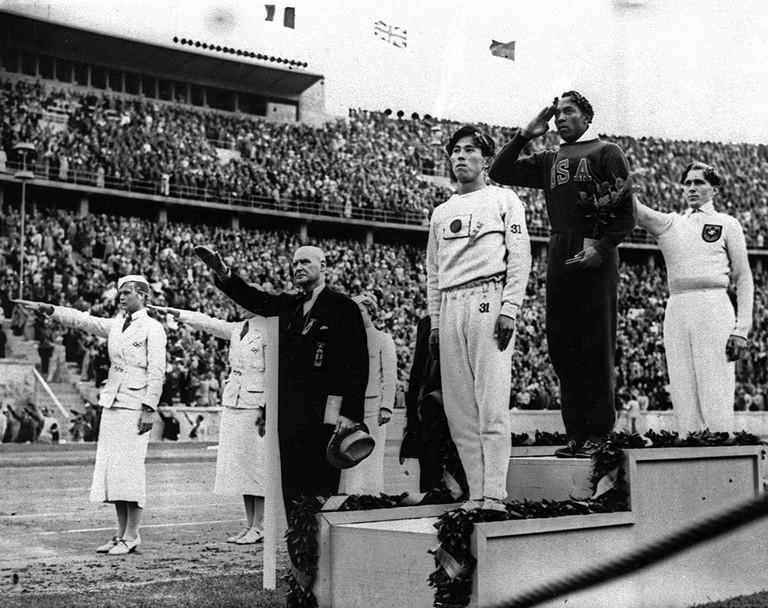 Jesse Owens, BERLIN, Germany