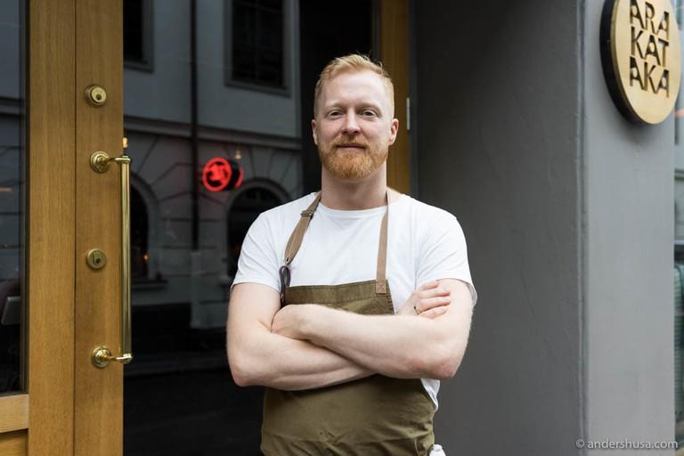Ronny Kolvik back in his Arakataka days, Courtesy of Foodie Stories by Anders Husa