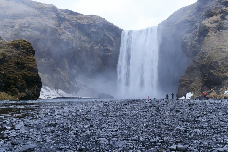 Skógafoss Waterfall-Iceland Golden Circle Tour-Iceland