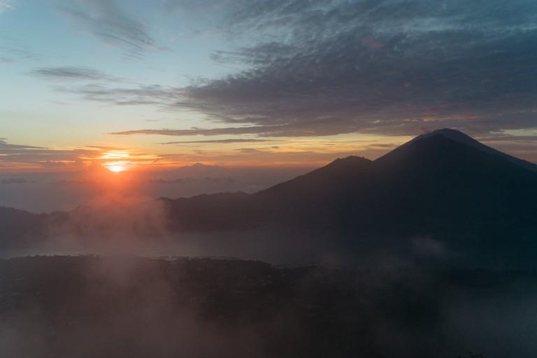MOUNT BATUR HIKE-BALI-INDONESIA