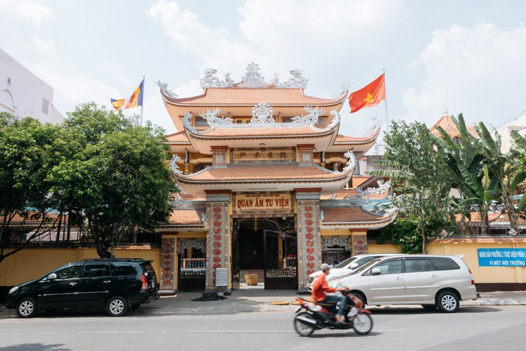 QUANAM MONASTERY-PHUNHUAN DISTRICT-SAIGON-VIETNAM