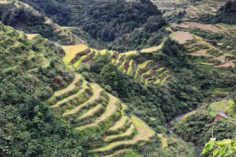 The Banaue village cluster-part of the Rice Terraces of the Philippine Cordilleras