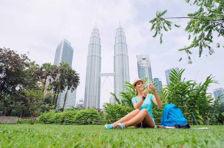Petronas Twins Tower in Kuala-Lumpur