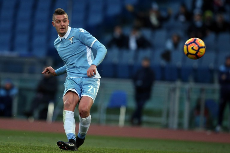 Milinkovic-Savic action during the match Lazio vs Atalanta, Stadio Olimpico, Rome, Italy