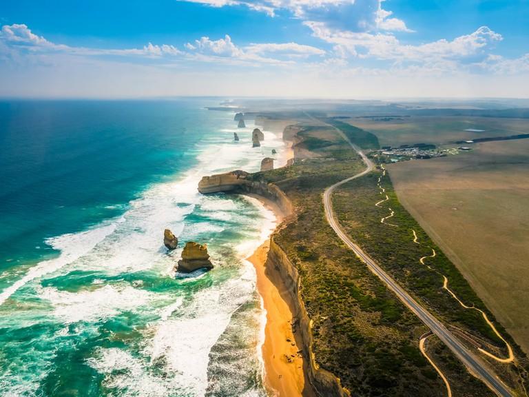 Twelve Apostles by the Great Ocean Road, Australia