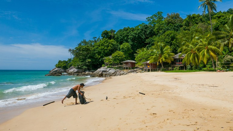 Perhentian Islands, Mira beach, Malaysia