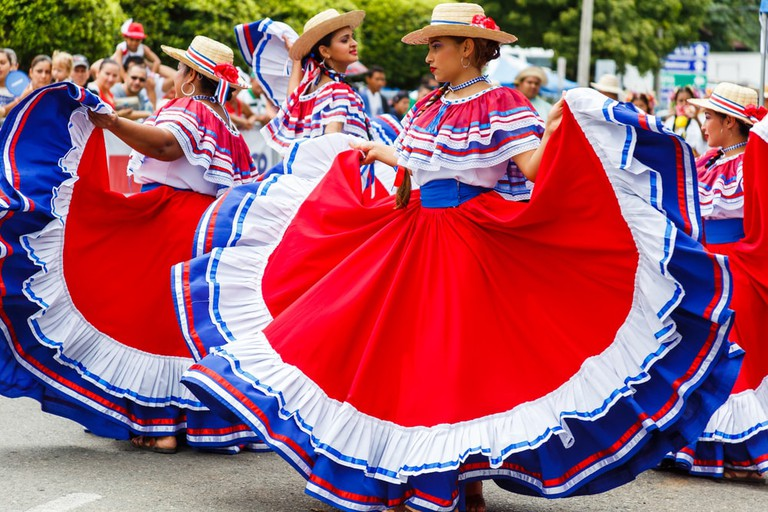Dancers performing a traditional dance, Quepos, Costa Rica | © Cara Koch / Shutterstock