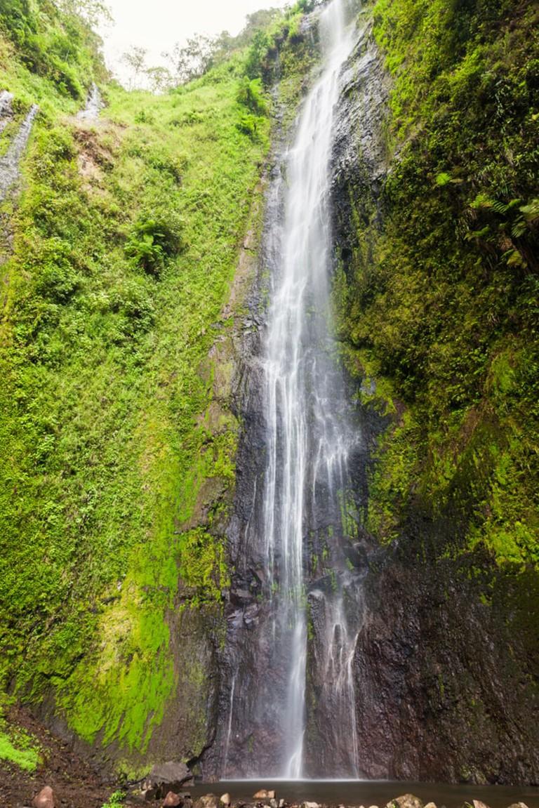 San Ramon Waterfalls on Ometepe Island, Managua, Nicaragua.