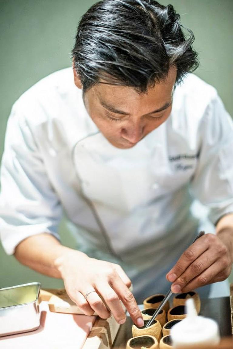 Sushi chef Roger Asakil Joya of Sabi Omakase, Courtesy of Sabi Omakase