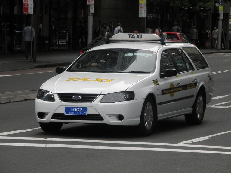 Sydney taxi © Jason Thien / Flickr
