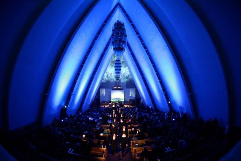The Arctic cathedral in Tromsø, Courtesy of Visit Tromsø