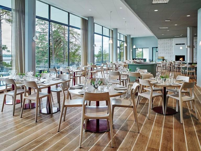 The restaurant in Artipelag